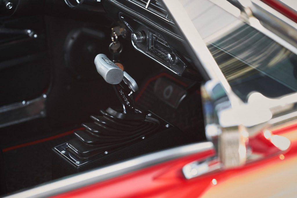 Ford Mustang I interior