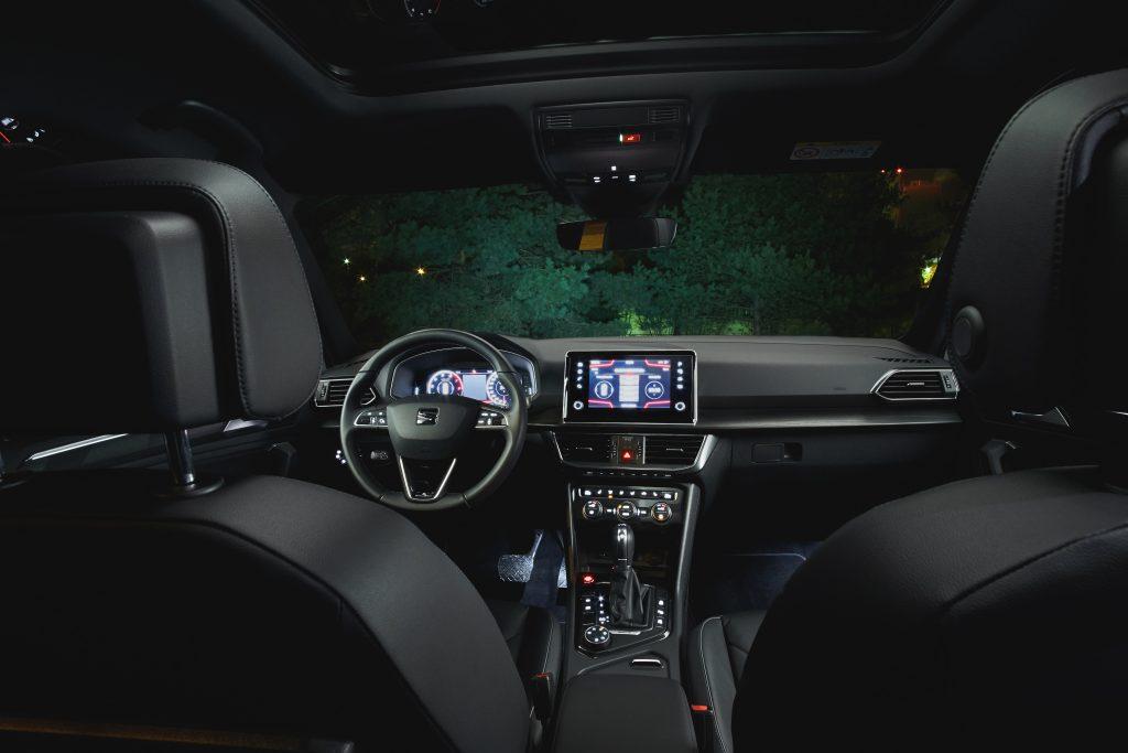 Seat Tarraco Xcellence 2.0 EcoTsi 190 KM DSG 4Drive - interior