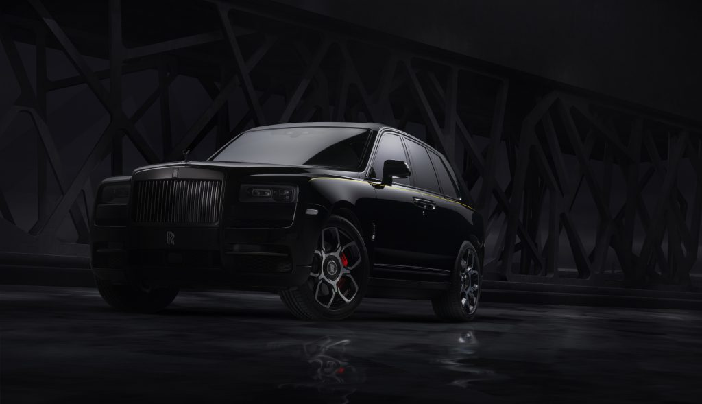 fot. Rolls-Royce Cullinan Black Badge
