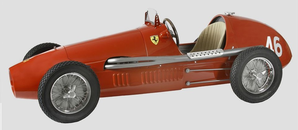 Ferrari 500  skala 1:8  cena 12 800 £ (ok. 64 320 pln)