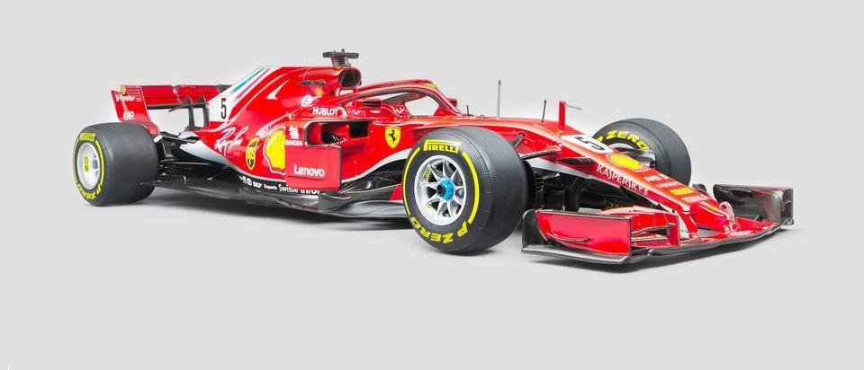 Ferrari SF71H F1 Vettel  skala 1:8  cena 5 990 £ (ok. 30 100 pln)