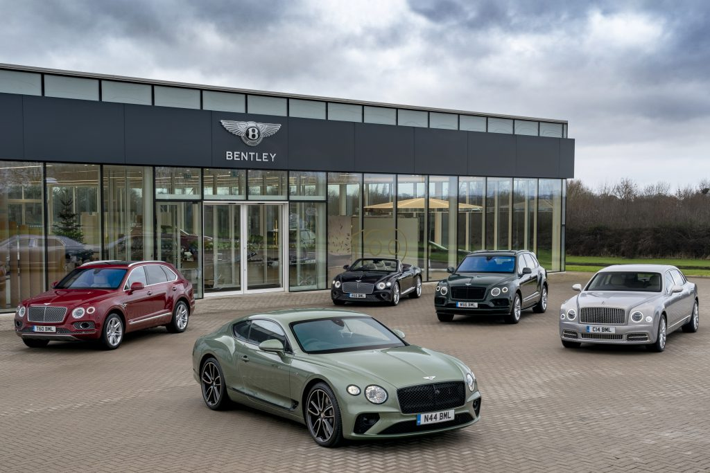 Bentley Continental Bentayga Flying Spur