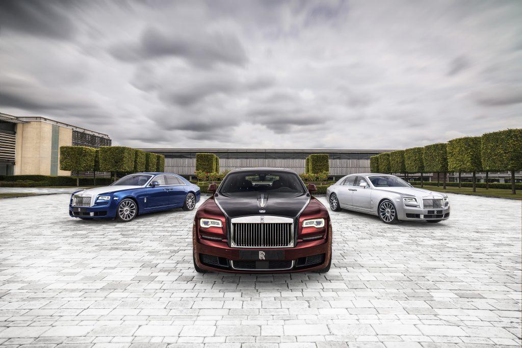 fot. Rolls-Royce Ghost Zenith