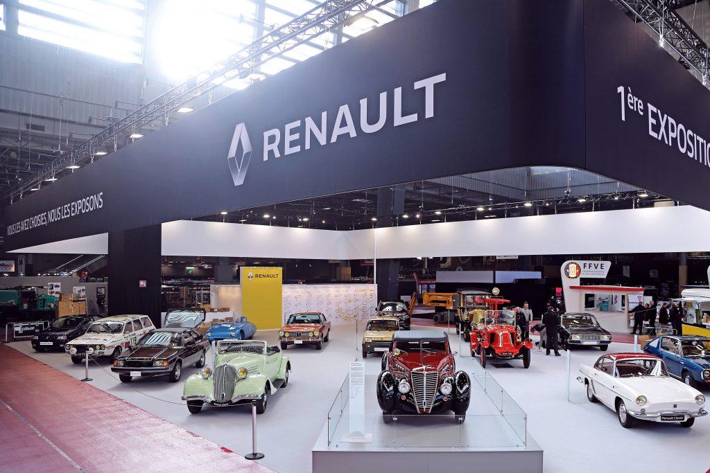 fot. Renault - Rétromobile 2020