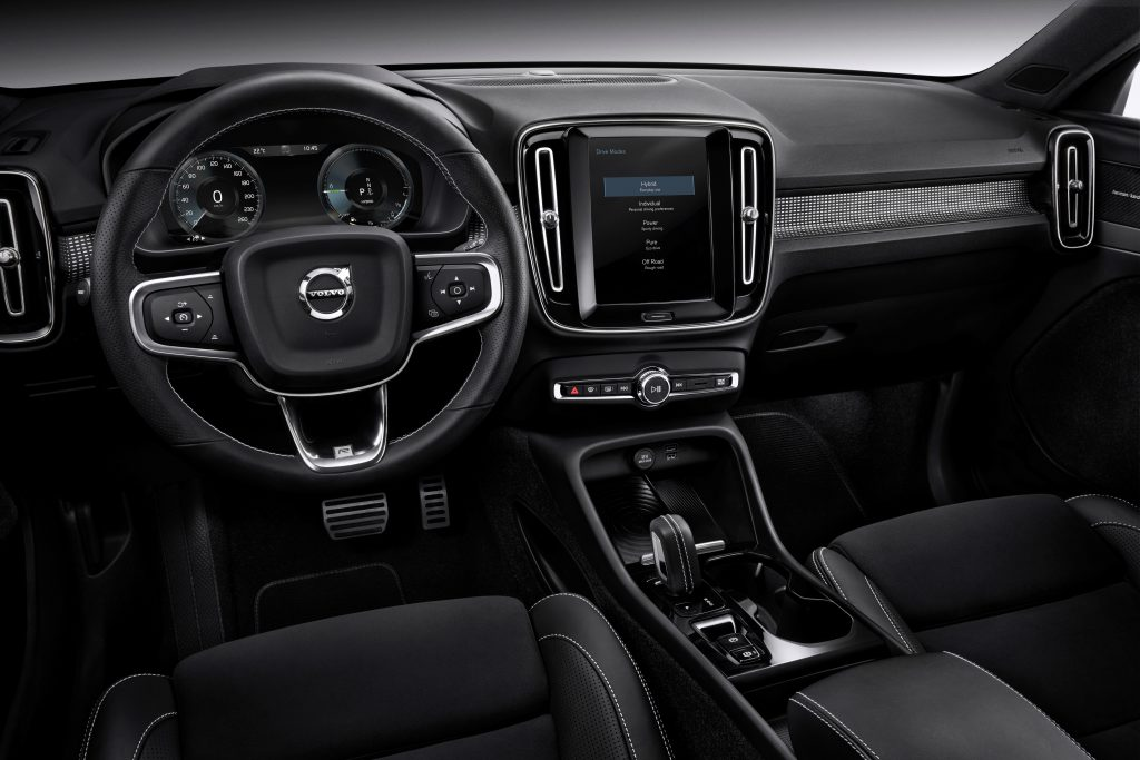Volvo XC40 T5 plug-in hybrid Interior