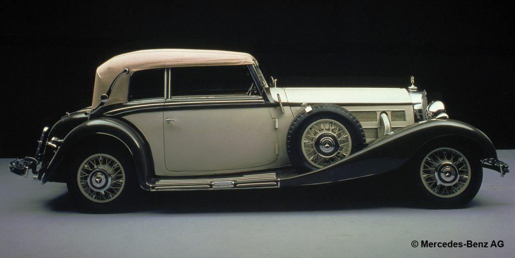 fot. Mercedes-Benz Typ 500 K, Cabriolet B, 1934.