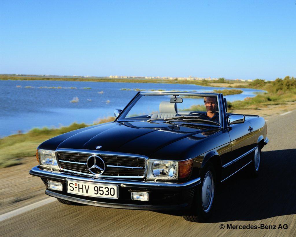 fot. Mercedes-Benz Typ 500 SL-Roadster, R 107