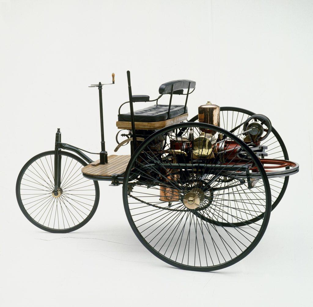 pierwsze auto Carla Benza  1886 rok  fot. archiwum Mercedes-Benz