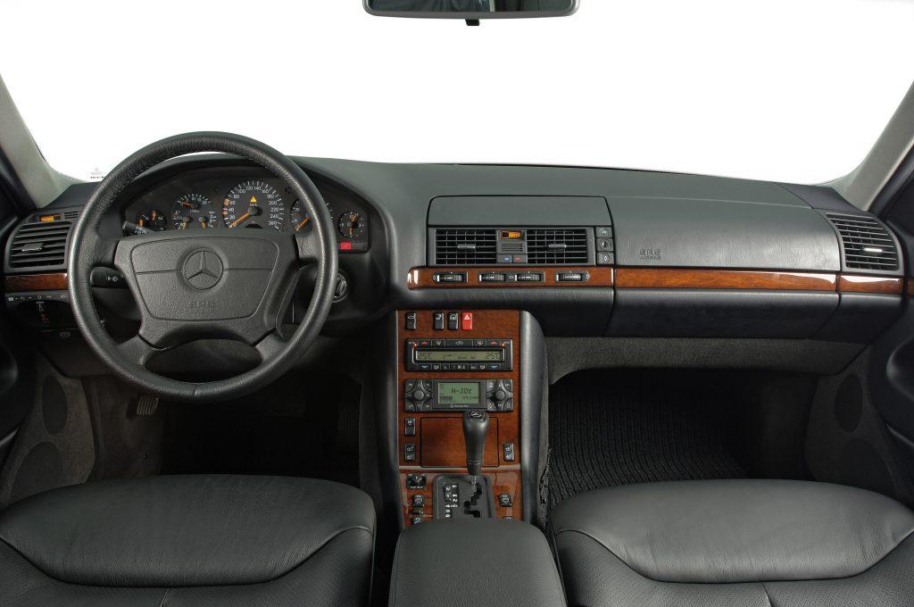 Mercedes-Benz S-Klasse (W 140) rok 1991 fot. archiwum Mercedes-Benz