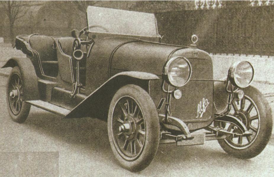 fot. Alfa Romeo 20-30 HP