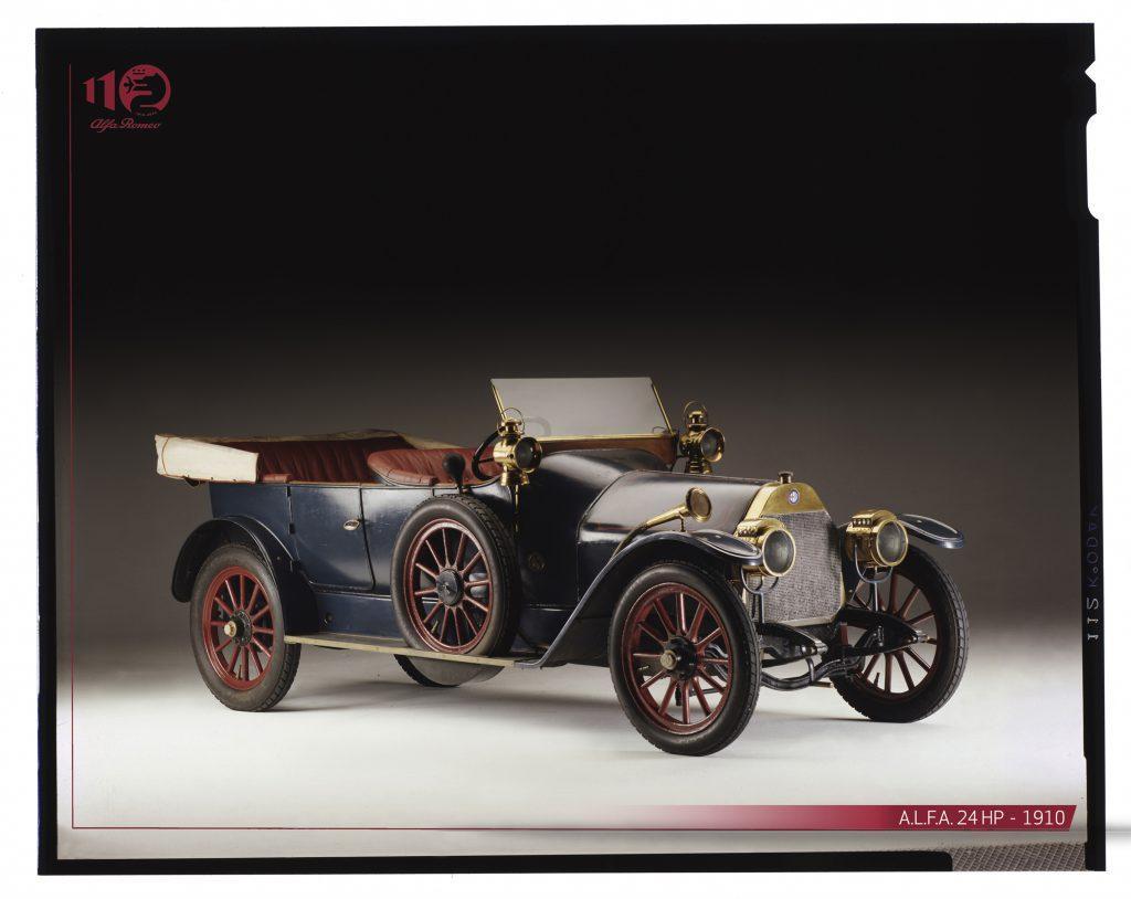 fot. A.L.F.A. 24 HP rok 1910