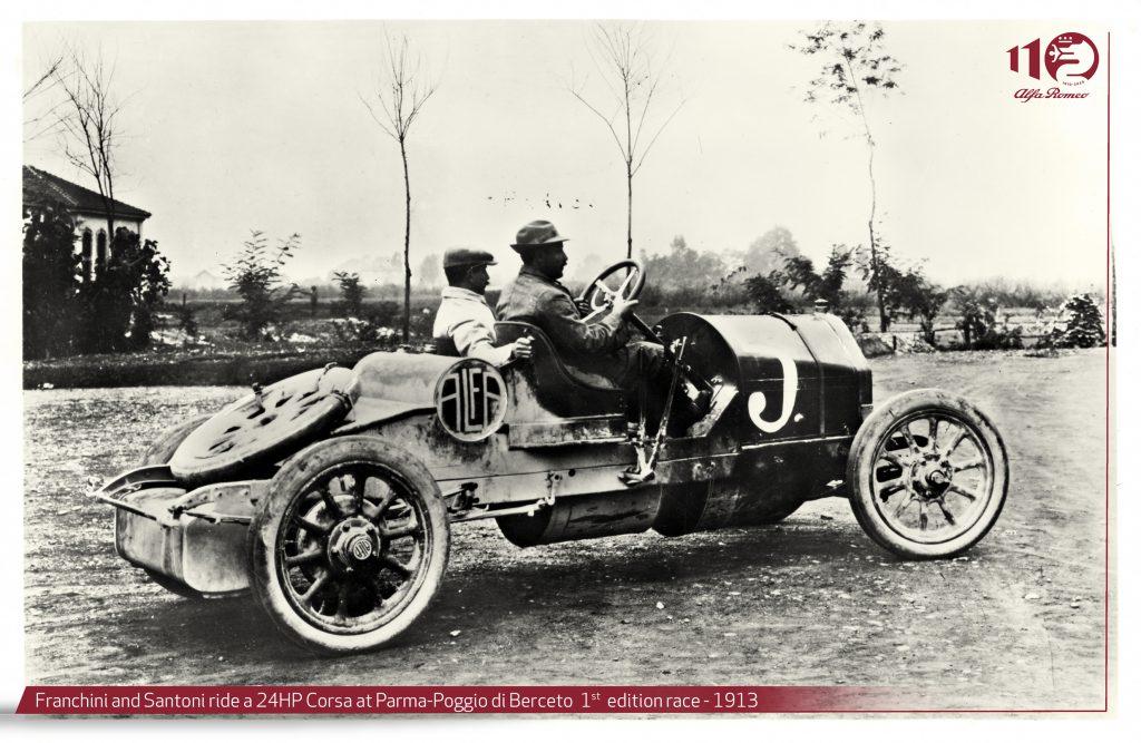 fot. A.L.F.A. Corsa rok 1913