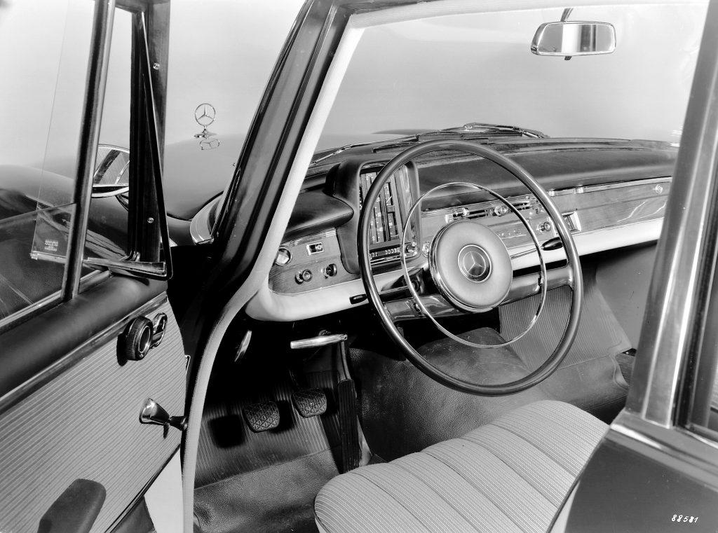 Mercedes-Benz Type 220  (W 111)  rok 1959  fot. archiwum Mercedes-Benz