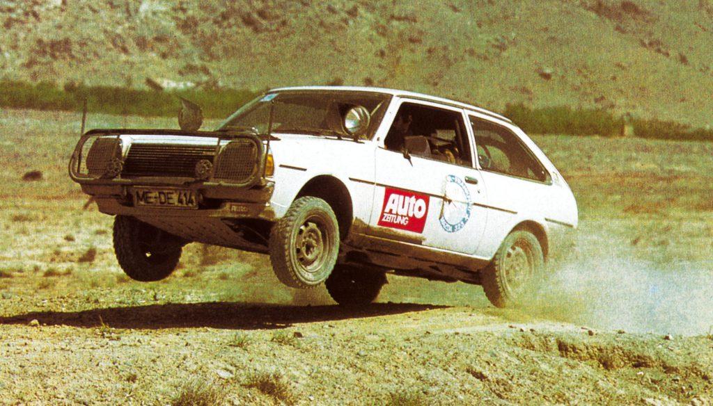 fot. Mazda podróż Hiroszima-Frankfurt rok 1977
