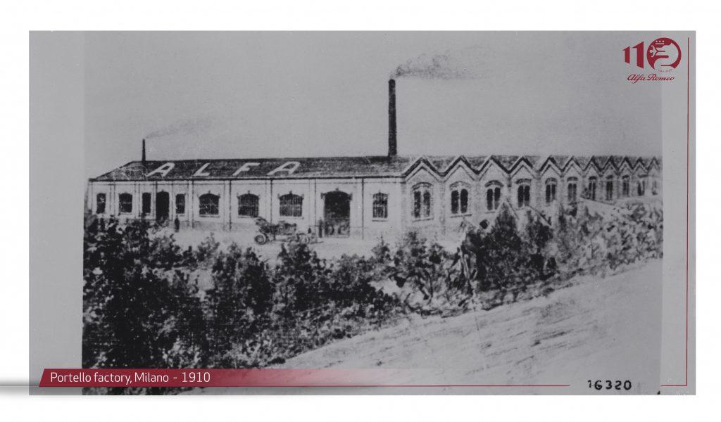 fot. fabryka w Portello