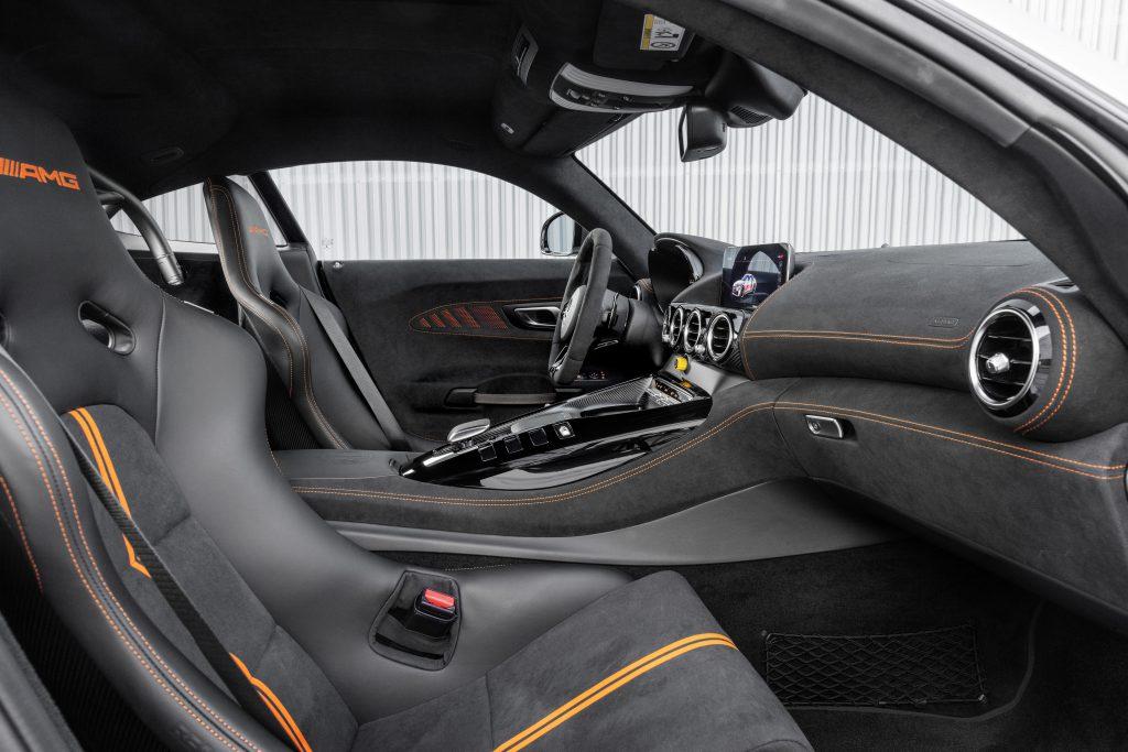 Mercedes AMG GT Black Series Interior