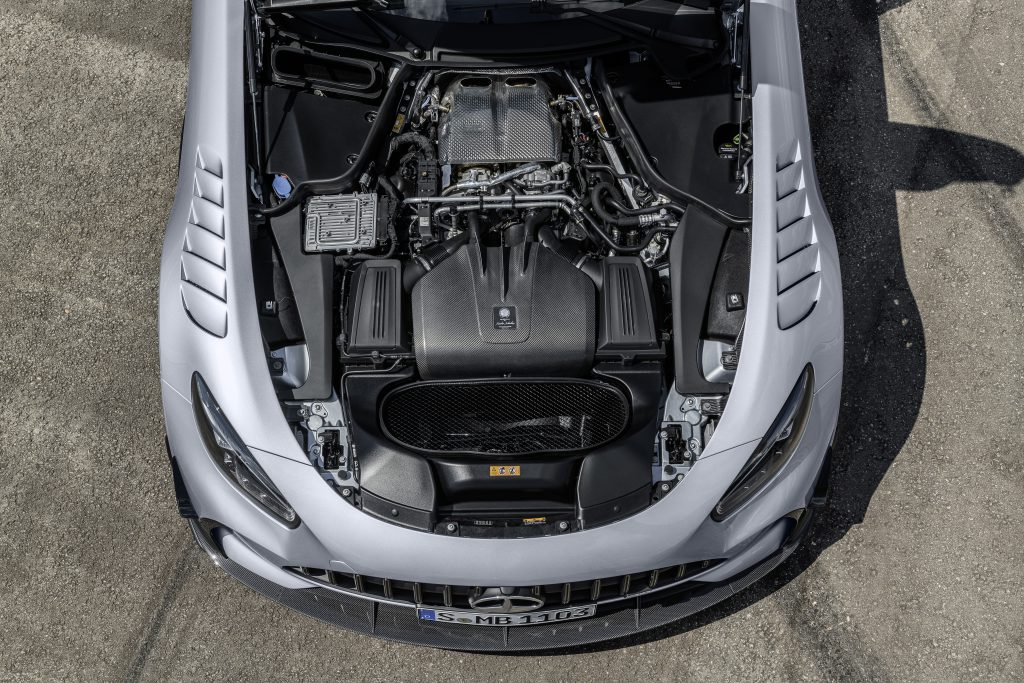 Mercedes AMG GT Black Series - engine