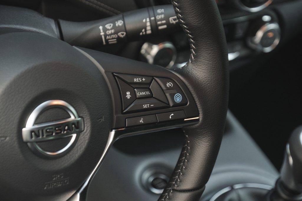 Nissan Juke - kierownica
