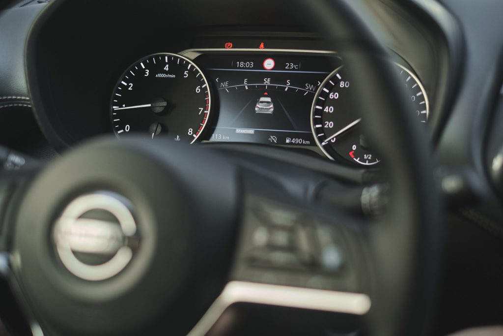 Nissan Juke - zegary
