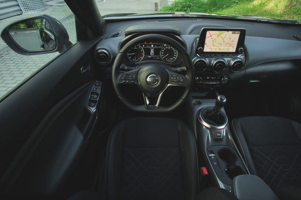 Nissan Juke - wnętrze