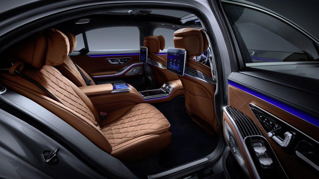 fot. Mercedes-Benz S-Klasa 2020 - wnętrze