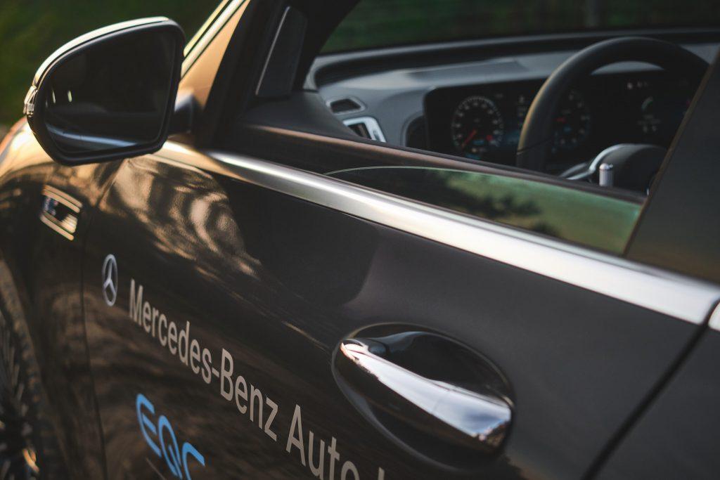 wnętrze Mercedes-Benz EQC