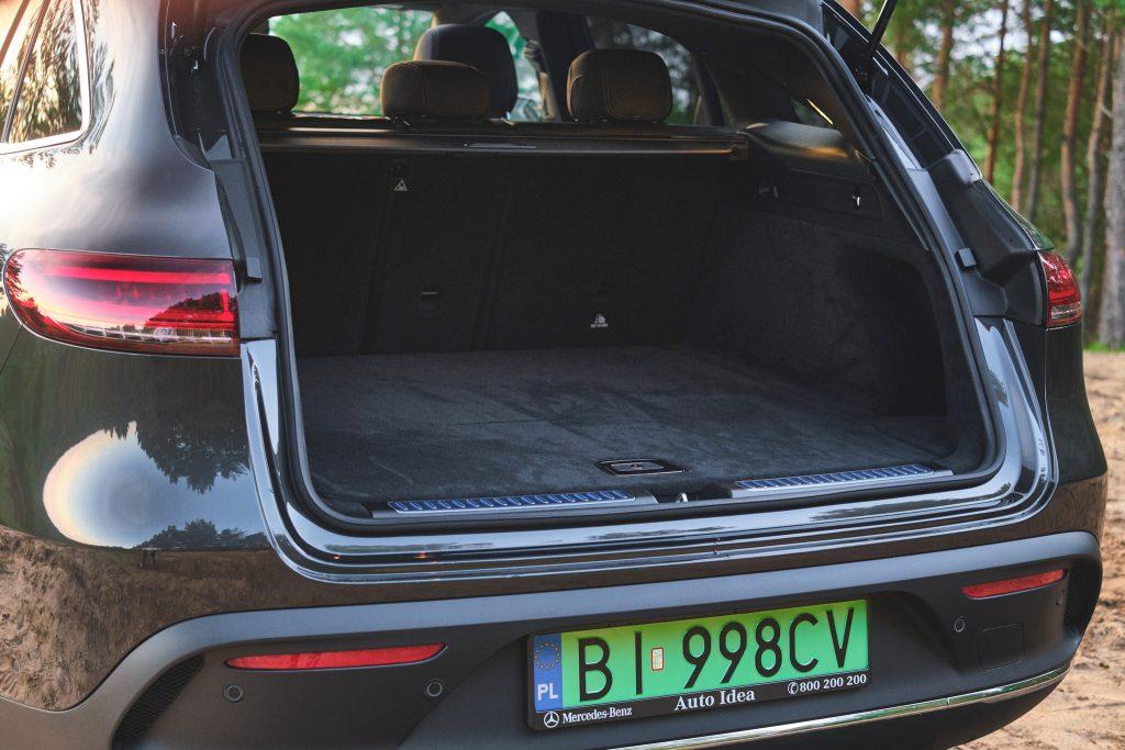 Mercedes-Benz EQC bagażnik