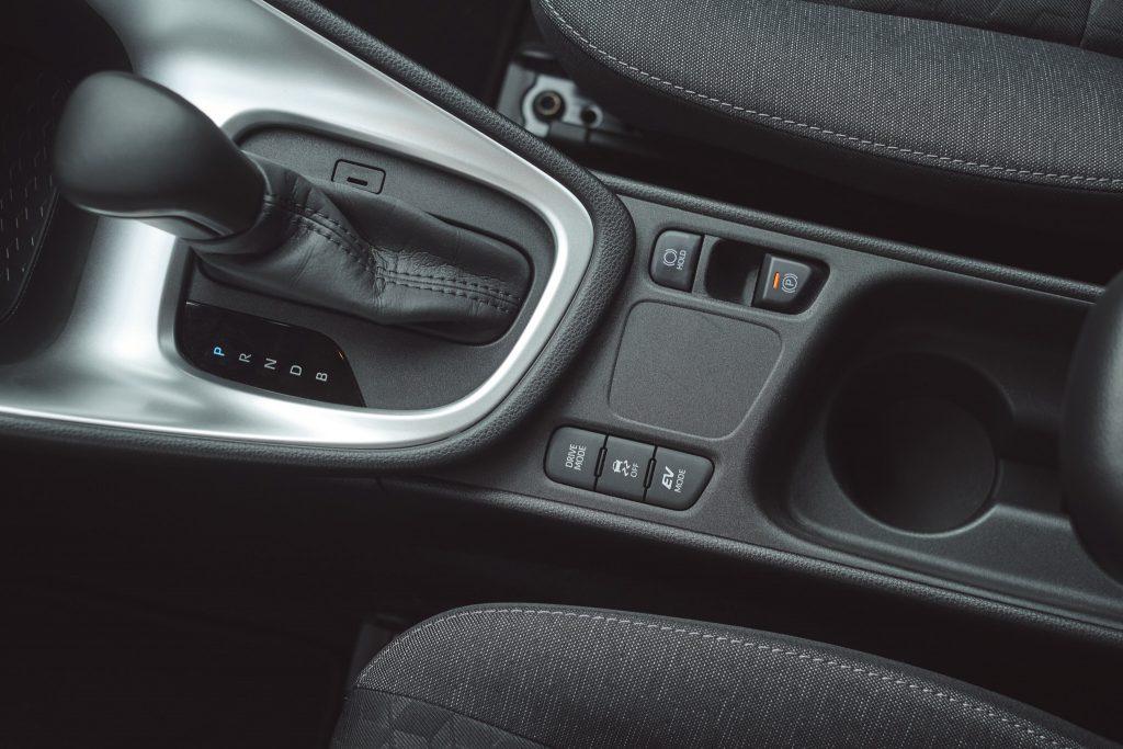 Toyota Yaris IV - wnętrze