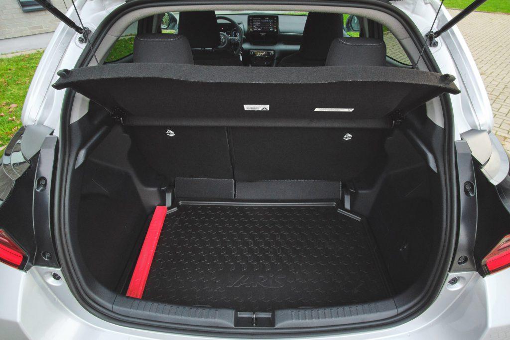 Toyota Yaris IV - bagażnik