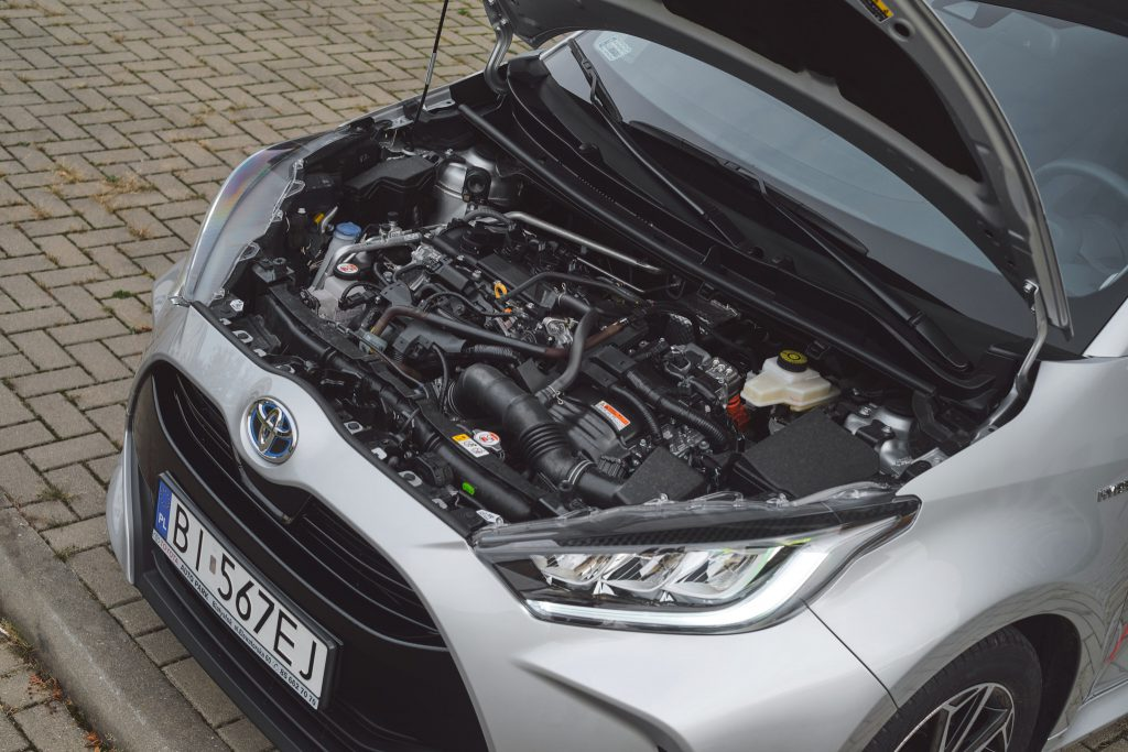 Toyota Yaris IV - silnik