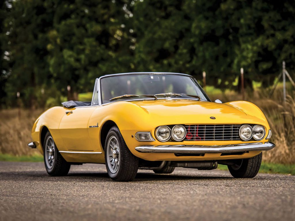 fot. RM Sotheby's - Fiat Dino Spider by Pininfarina