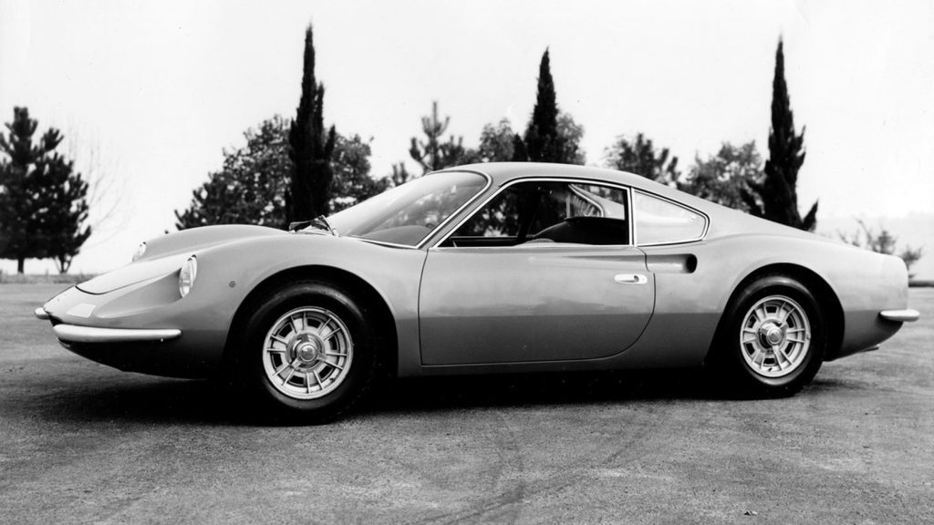 fot. archiwum Ferrari - Dino 206 GT