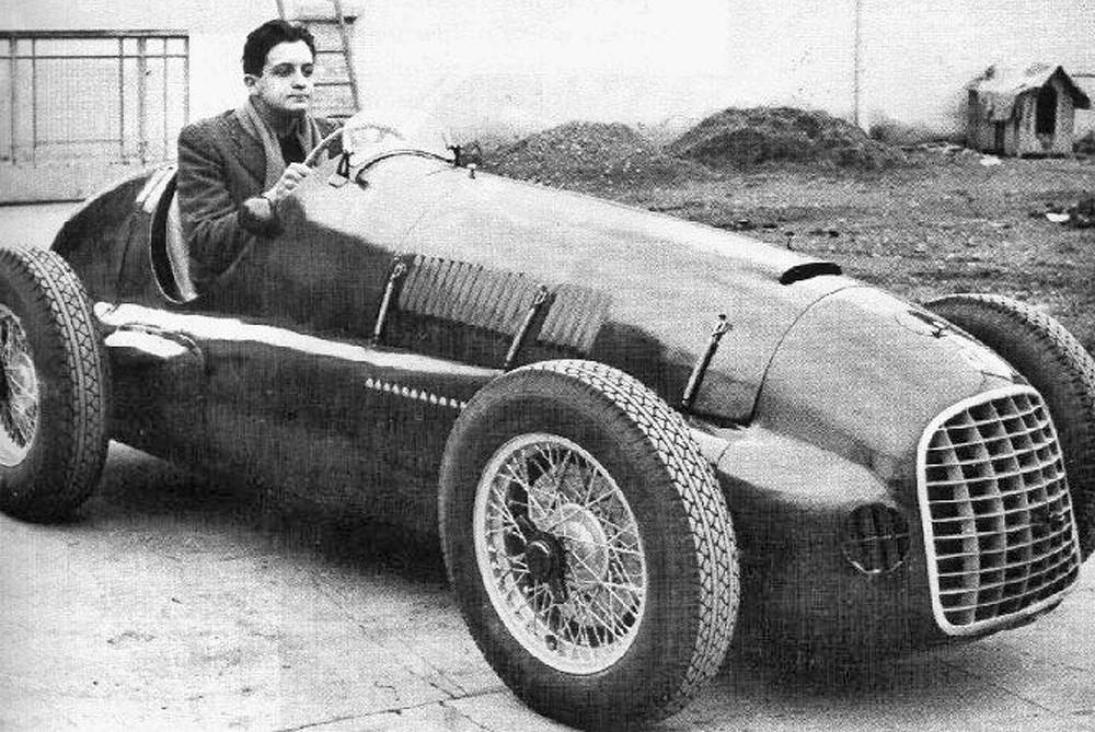 "fot. archiwum Ferrari - Alfredo ""Dino"" Ferrari"